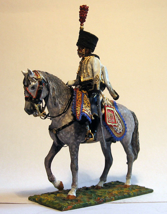 Hussars. Captian, 5 Regiment