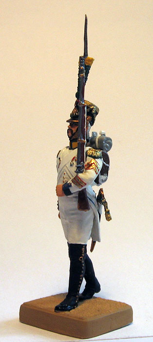 Voltiger 1807. Sergeant Major